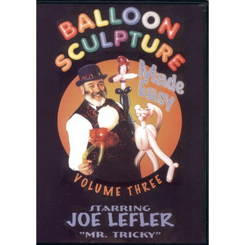 Balloon Sculpture Made Easy #3 Dvd - 1