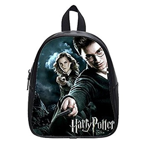 LilyFavor Stylish Harry Potter Custom Zaino Casual Borsa School Borsa Black(L)