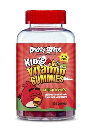 Natrol Angry Birds Kid'S Vitamin Gummies, 120 Count (Pack Of 4)