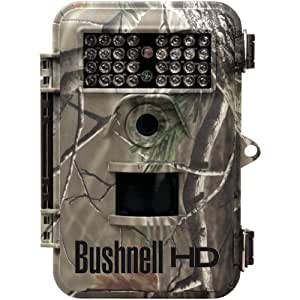 Bushnell 119447C Bushnell 119447C 8.0 Megapixel Trophy Hd Camo Night-Vision Trail Camera With Field Scan
