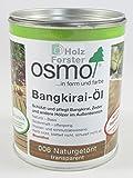 OSMO Bangkirai-Öl 006 Naturgetönt seidenmatt 750ml