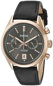 Fossil Men's CH2991 Del rey Analog Display Analog Quartz Black Watch