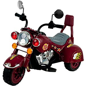 Lil' Rider Maroon Marauder Motorcycle - Three Wheeler