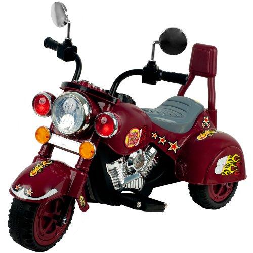 Lil' Rider Maroon Marauder Motorcycle - Three Wheeler front-697827