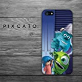 Friends - Monster University 02 - Iphone 4/4S Case - 3D Iphone Case - Hard Plastic Case