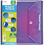 Mead Trapper Keeper 1.5 Inch Binder, 3 Ring Binder, Purple (72682)