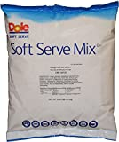 Mango Dole Whip Soft Serve Ice Cream Mix (Large 4.4 Pound Bag) - Authentic Dolewhip Same As Found in Disneyland and Hawaii but in Mango