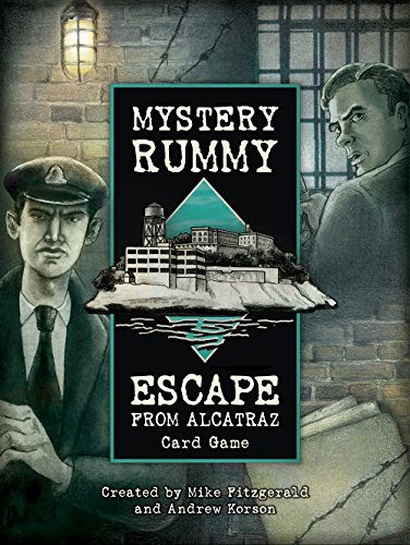Mystery Rummy Escape from Alcatraz: Card Game