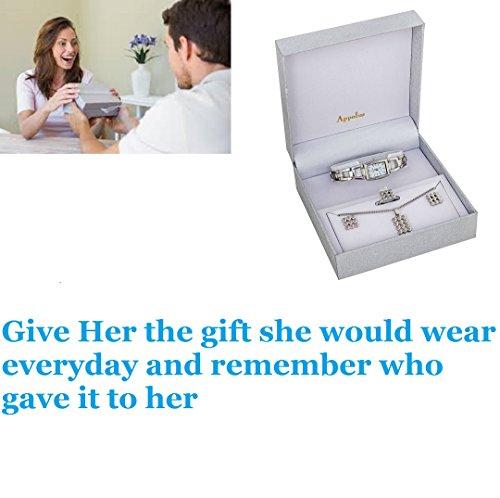 Watch Jewelry Gift Set- Gifts For Women Girlfriend Wife Mom Birthday Graduation Anniversary Christmas