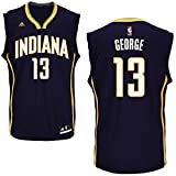 Paul George Indiana Pacers #13 NBA Youth Road Jersey Navy (Youth Large 14/16)