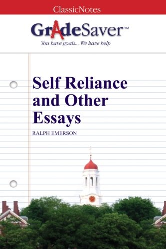 self reliance and other essays analysis Published first in 1841 in essays and then in the 1847 revised edition of essays, self-reliance took shape over a long period of time throughout his life, em.