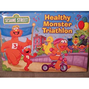 Healthy Monster Triathlon (Sesame Street)