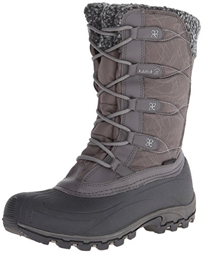 Kamik Women's Fortress Boot,Charcoal,9 M US (Kamik Rival compare prices)