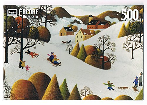Encore Americana 500 Pc (Sledding) - 1