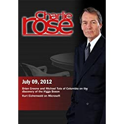 Charlie Rose - Brian Greene and Michael Tuts / Kurt Eichenwald on Microsoft (July 9, 2012)