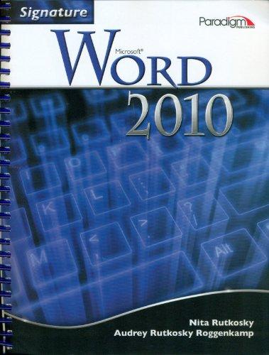 Microsoft Word 2010 (Signature)