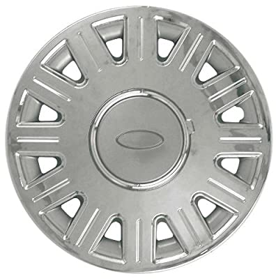 CCI IWC412-16CN 16 Inch Clip On Chrome Finish Hubcaps - Pack of 4