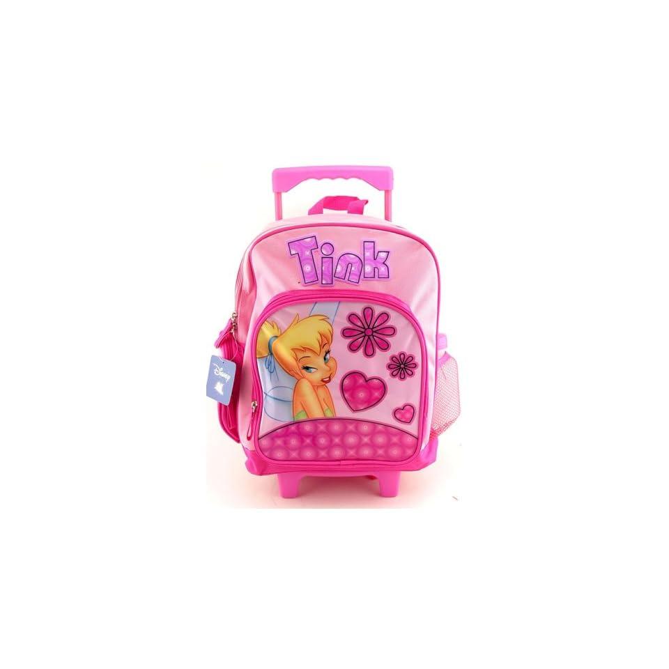 Disney Princess Tinker Bell Rolling Backpack Full Size