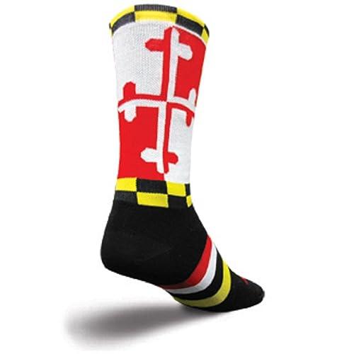 SockGuy Crew 8 LAX Maryland Lacrosse Socks