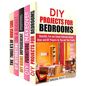 DIY House Improvements Box Set (5 in 1): Simple But Great Techniques to Give Life to Your Home (Decoration & Interior Design)