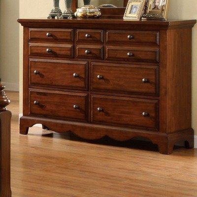 Sorrento Dresser In Cherry Oak front-1010758