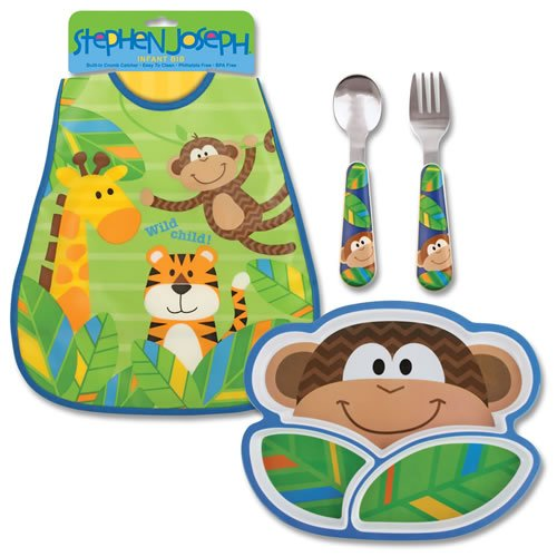 Toddler's Monkey Meal Set - 1