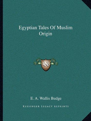 Egyptian Tales of Muslim Origin