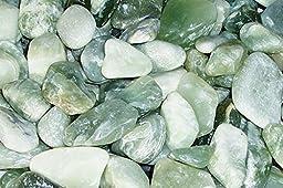 Feng Shui Decorative Pebbles - Polished Jade - 1 Pack