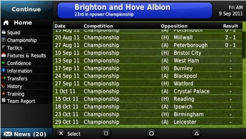 Football Manager 2012  screenshot