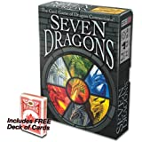 Seven Dragons The Card Game of Dragon Connections with FREE Deck of Cards