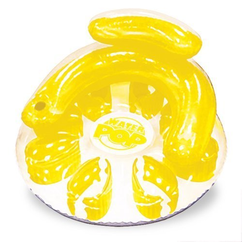 Poolmaster 06484 Water Pop Circular Lounge – Yellow by Poolmaster kaufen
