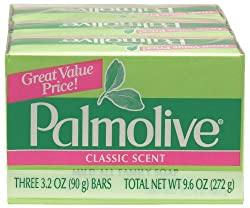 Palmolive Bath Bar Soap, 3.2 oz.. Bars, 3-Count