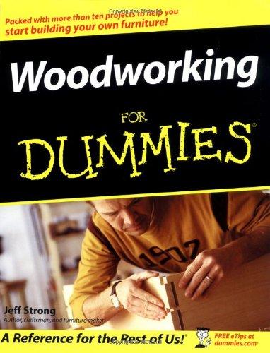 furniture making for dummies