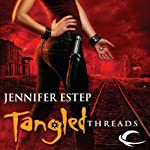 Tangled Threads: Elemental Assassin, Book 4 (       UNABRIDGED) by Jennifer Estep Narrated by Lauren Fortgang