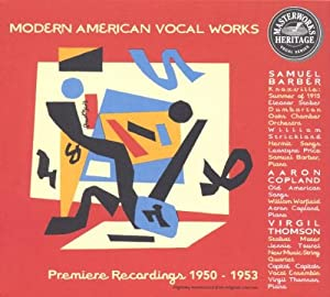 Early American Vocal Works from Sony Classics