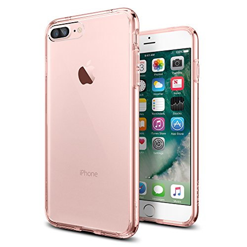 iPhone-7-Plus-Case-Spigen-Ultra-Hybrid-AIR-CUSHION-Rose-Crystal-Clear-back-panel-TPU-bumper-for-iPhone-7-Plus-2016-043CS20549
