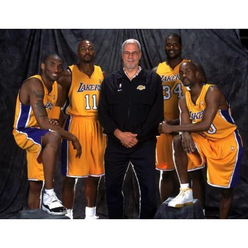 Neal, Gary Payton, and Karl Malone NBA Los Angeles Lakers 8x10 Photo