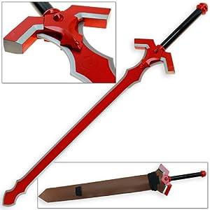 Buy Sword Art Online Demonic Gram Sword Legendary SAO ALfheim Online Crimson Red by Swordsaxe