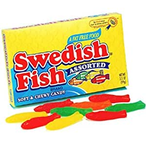Original swedish fish assorted 3 5 ounce for Swedish fish amazon