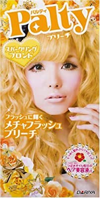 DARIYA Palty Hair Bleach Super Flash Dye, Sparkling Blonde, 0.5 Pound