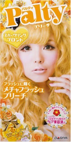 blonde hair dye shades. Palty Hair Dye (Super Flash