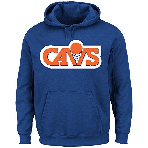 Cleveland Cavaliers NBA Hardwood Classics Pullover Hoodie Fleece (XLarge)