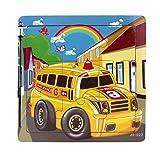 Ularma Lindo Juguetes de madera de los cabritos Jigsaw para la educaci�n de los ni�os y Puzzles juguetes de aprendizaje (multicolor18)