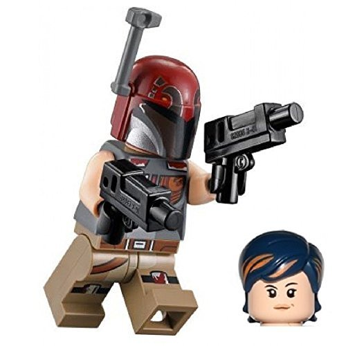 LEGO Star Wars Rebels Sabine Wren Minifigure with Mandalorian Helmet 75106 by LEGO