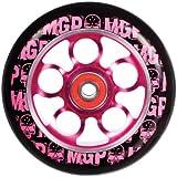 Madd Gear 100-mm Skulls Aero Scooter Wheel - Black PU