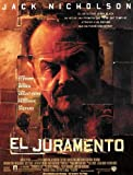 The Pledge Poster Spanish 27x40 Jack Nicholson Robin Wright Penn Aaron Eckhart