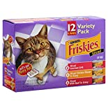 Friskies Cat Food, Sliced, Variety Pack, 12 - 5.5 oz (156 g) cans 4.12 lb (1.87 kg)