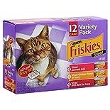 Friskies Cat Food, Sliced, Variety Pack, 12 - 5.5 oz (156 g) cans 4.12 lb (1.87 kg)