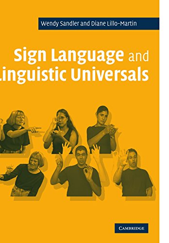 Sign Language and Linguistic Universals Paperback