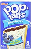 Pop-Tarts, Frosted Blueberry, 8-Count Tarts 14.7 ounces (Pack of 12)
